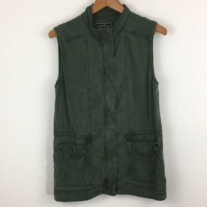 Lucky Brand Utility Vest - green